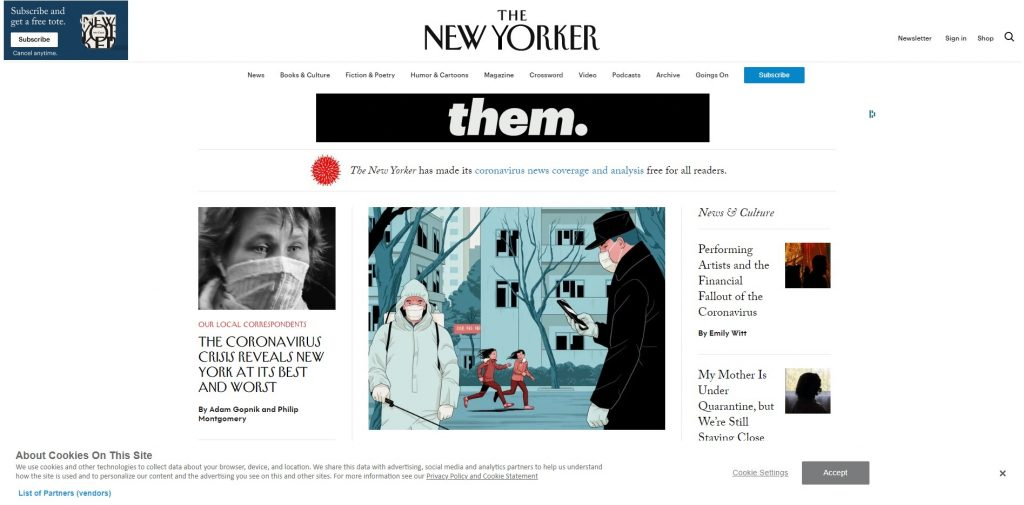 Čo je to WordPress The new yorker