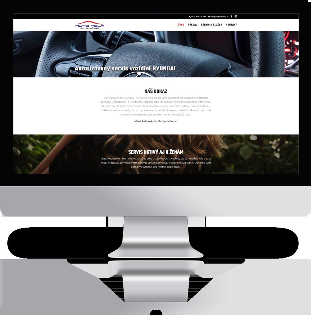 web pre autoservis