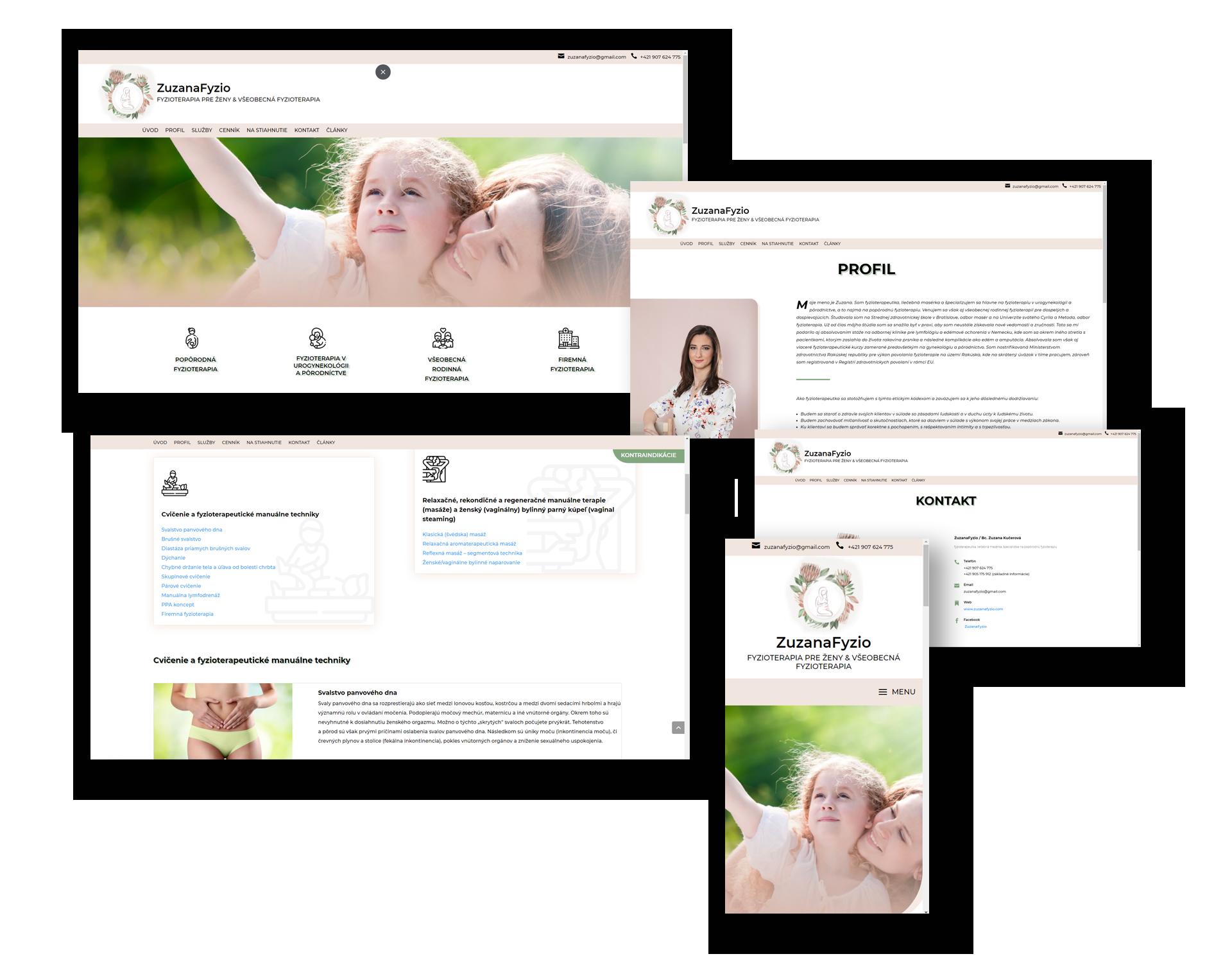 webove stranky pre autoservis